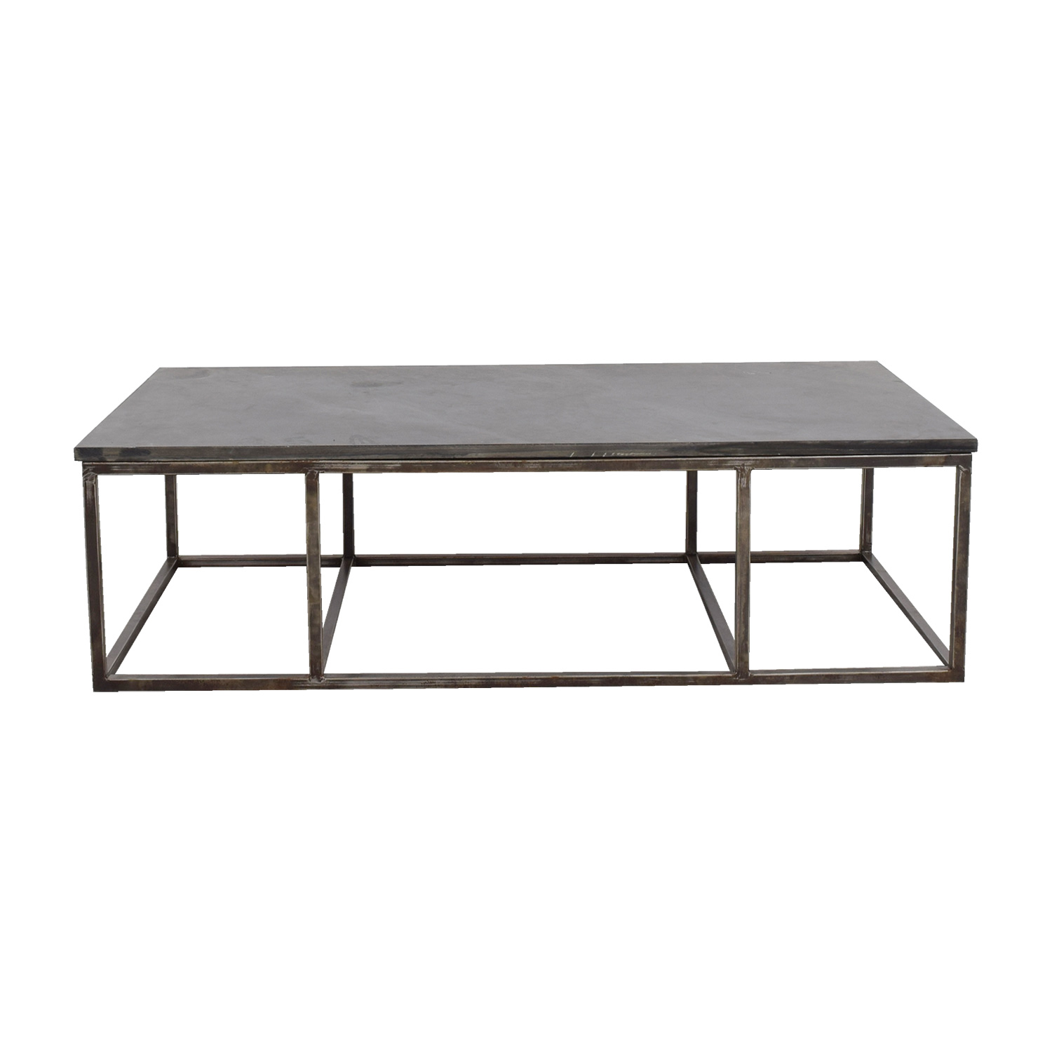 Custom Cut Slate Coffee Table Coffee Tables