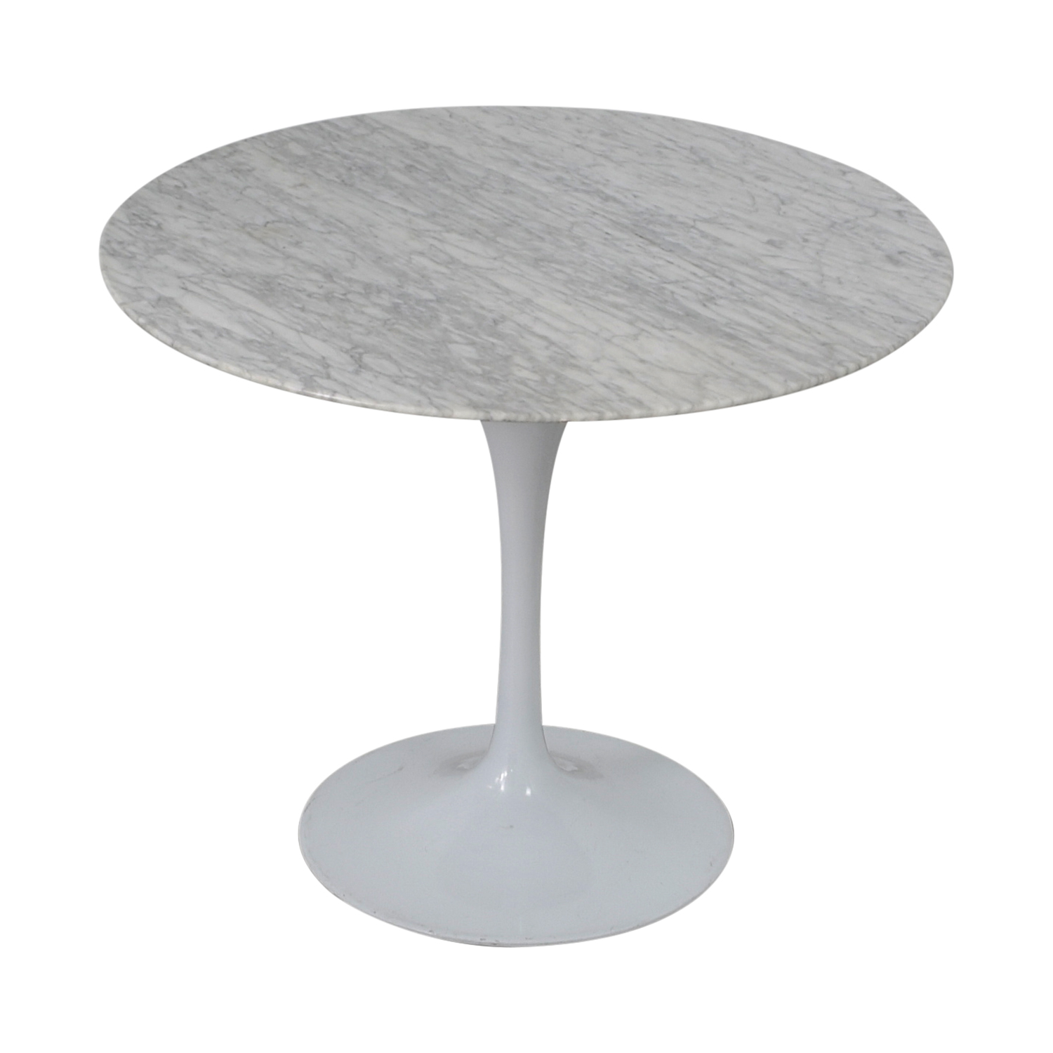 Knoll Knoll Saarinen with Carrara Marble Dining Table on sale