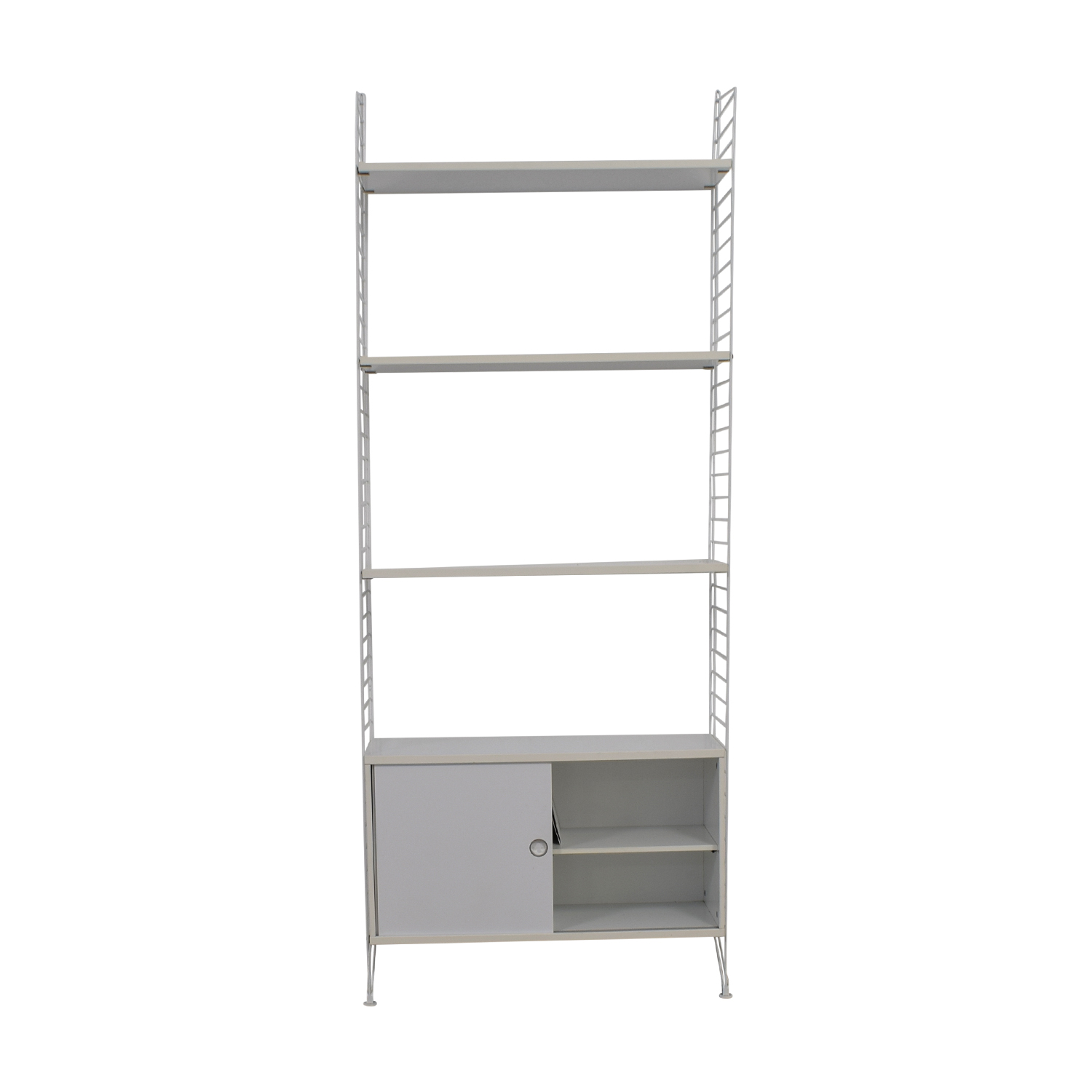 buy String White Shelving With Storage String