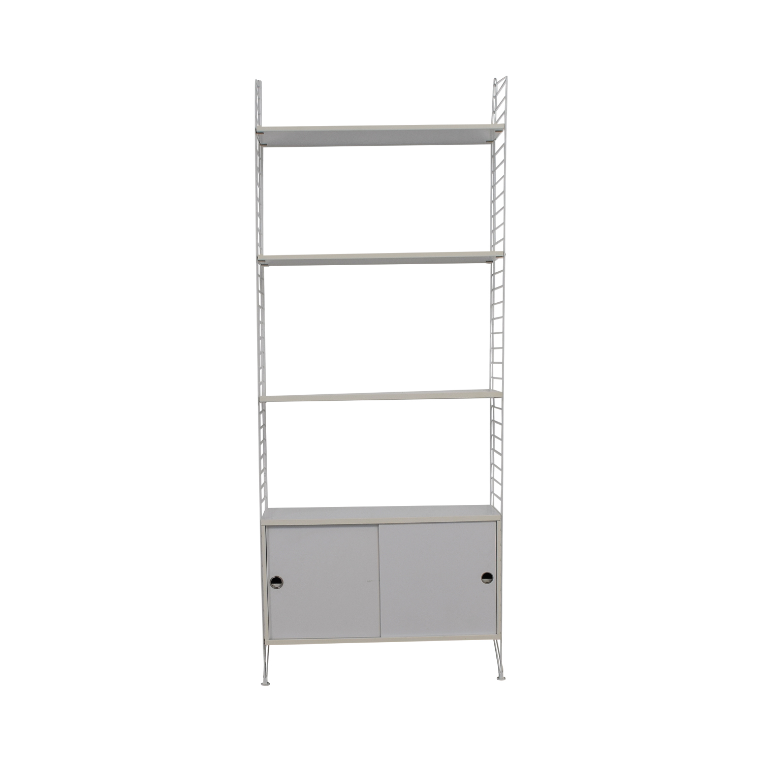 String String White Shelving With Storage price