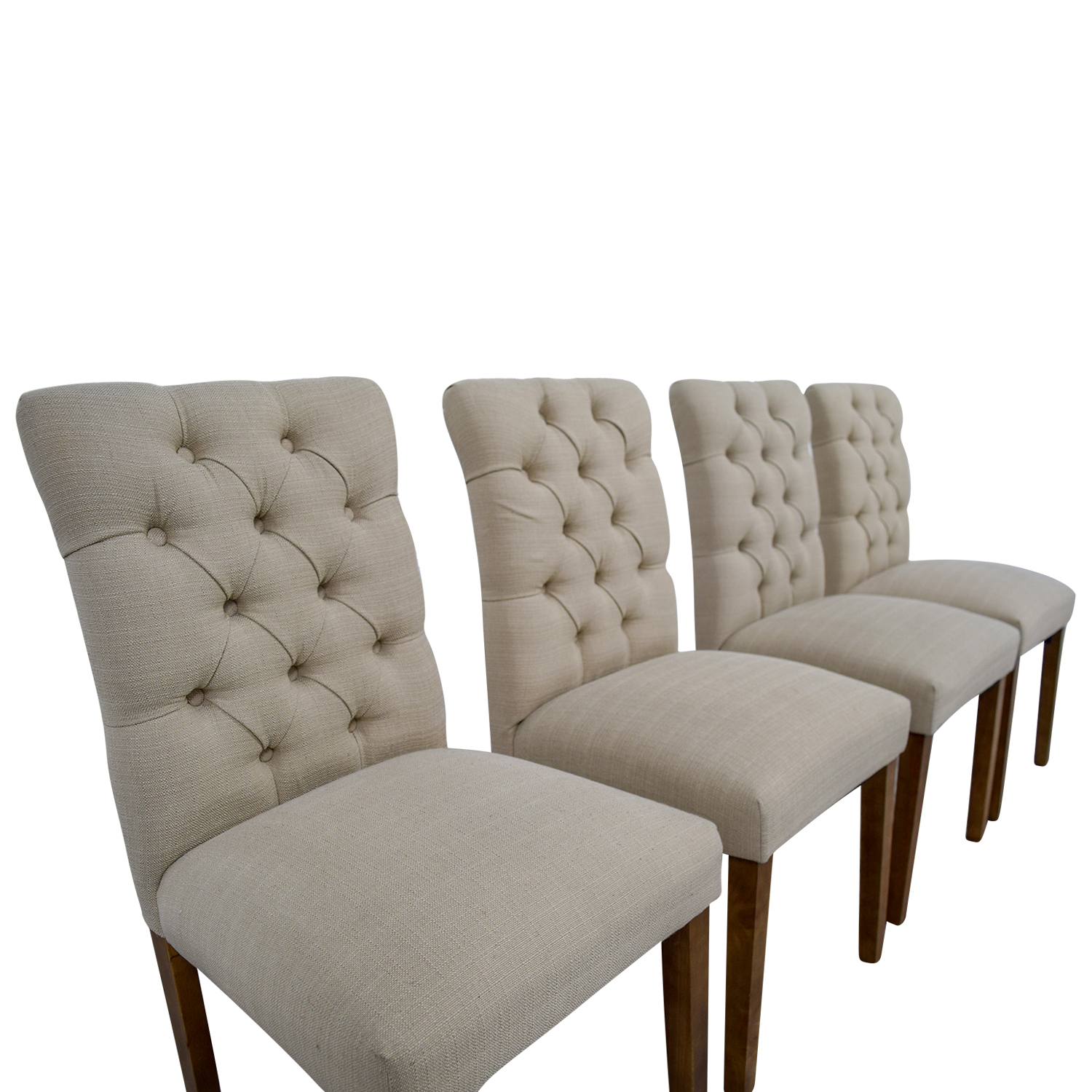 Genial ... Buy Target Target Brookline Threshold Tan Tufted Dining Chairs Online  ...