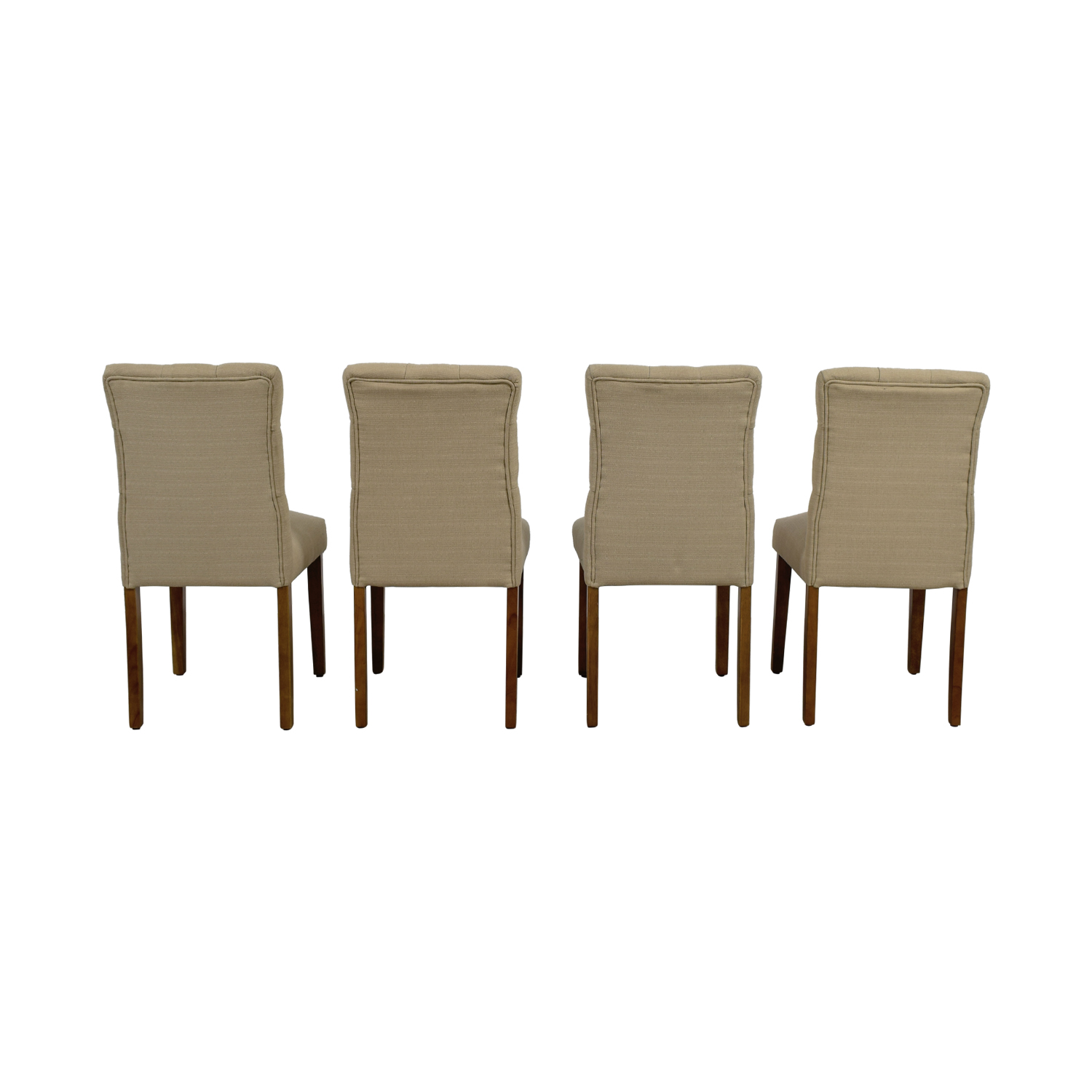 Target Target Brookline Threshold Tan Tufted Dining Chairs coupon
