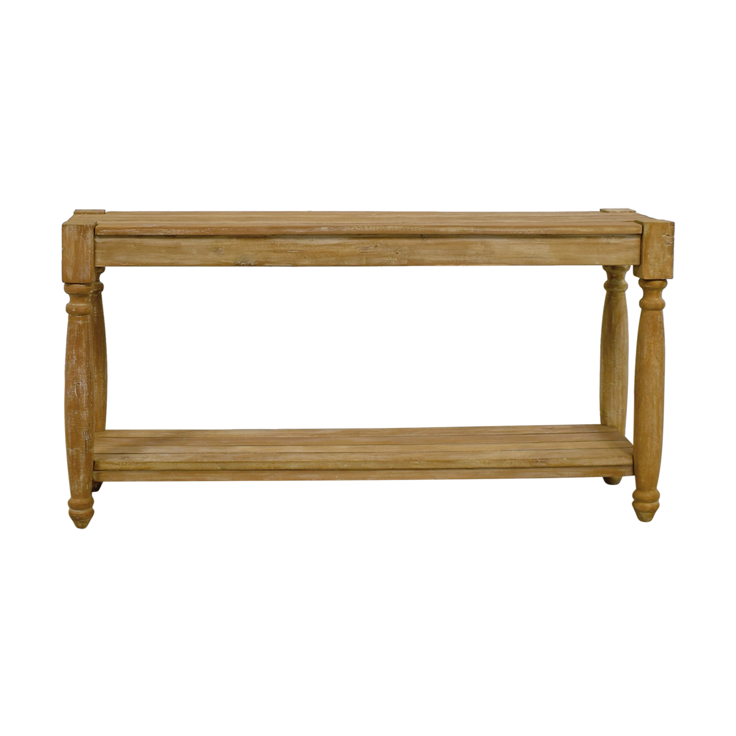 77 Off Homegoods Natural Wood Console Table Tables