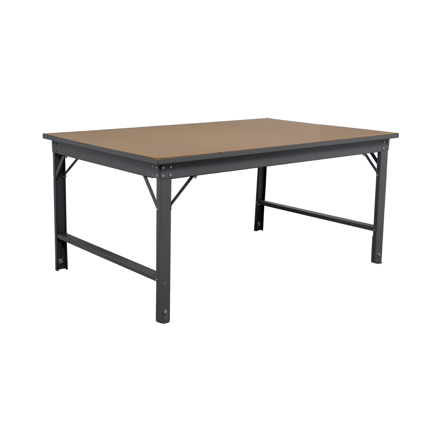 ... Southstar Supply Southstar Supply Industrial Tan Workshop Table Coupon  ...