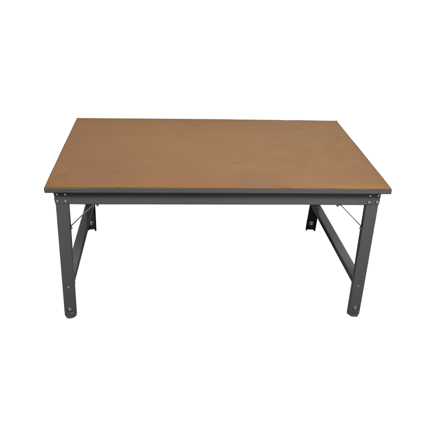 Southstar Supply Southstar Supply Industrial Tan Workshop Table second hand