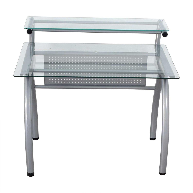 buy Glass and Metal Desk