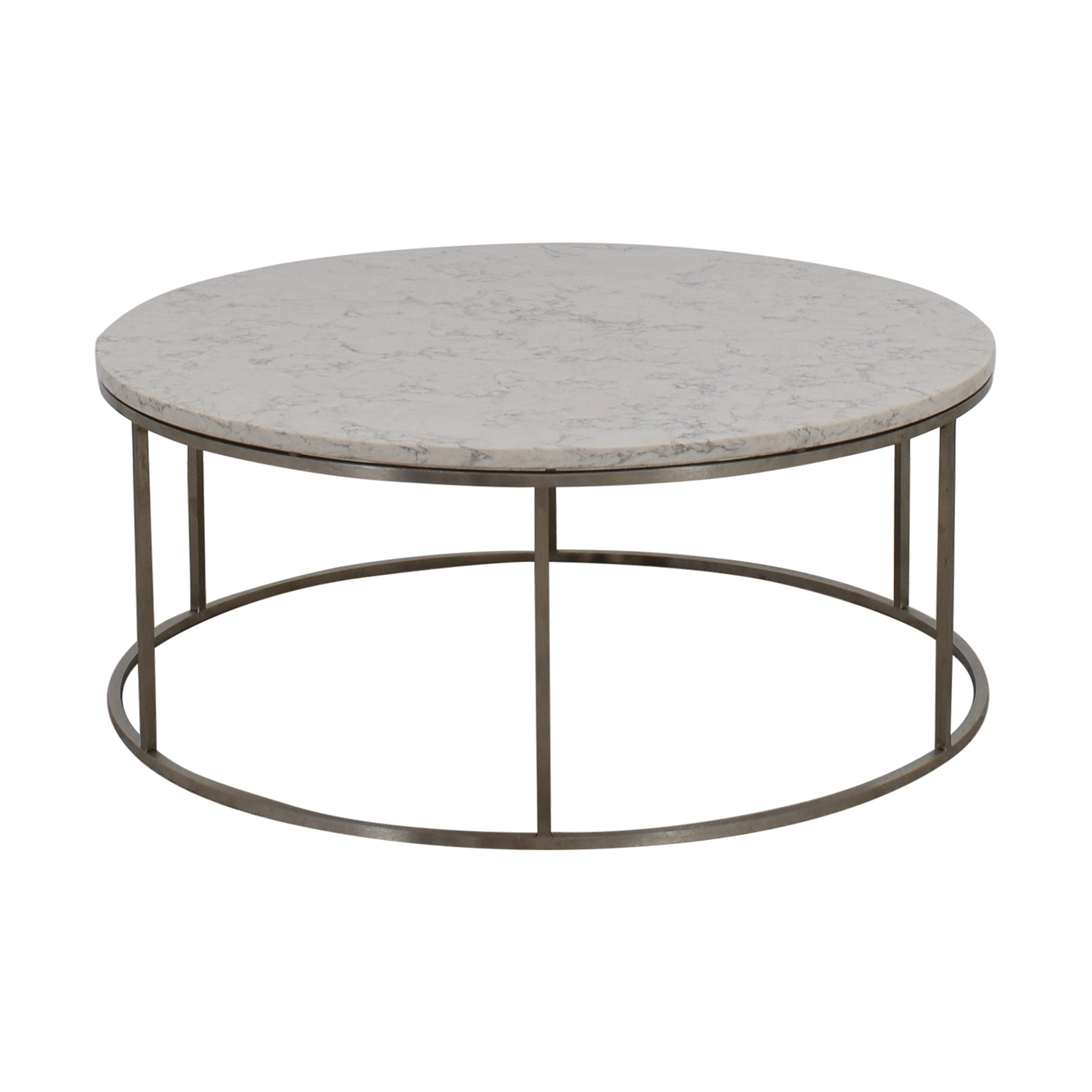Room & Board Room & Board Round Marble Top Coffee Table on sale