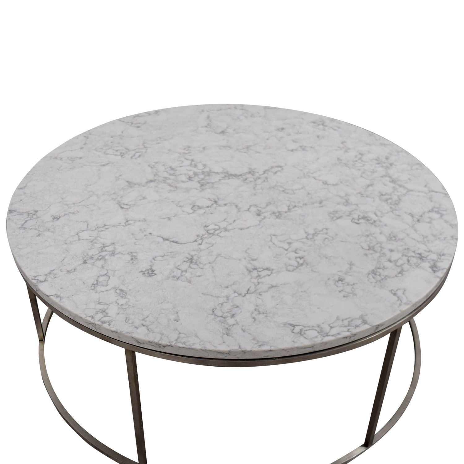 53 Off Room Board Room Board Round Marble Top Coffee Table Tables