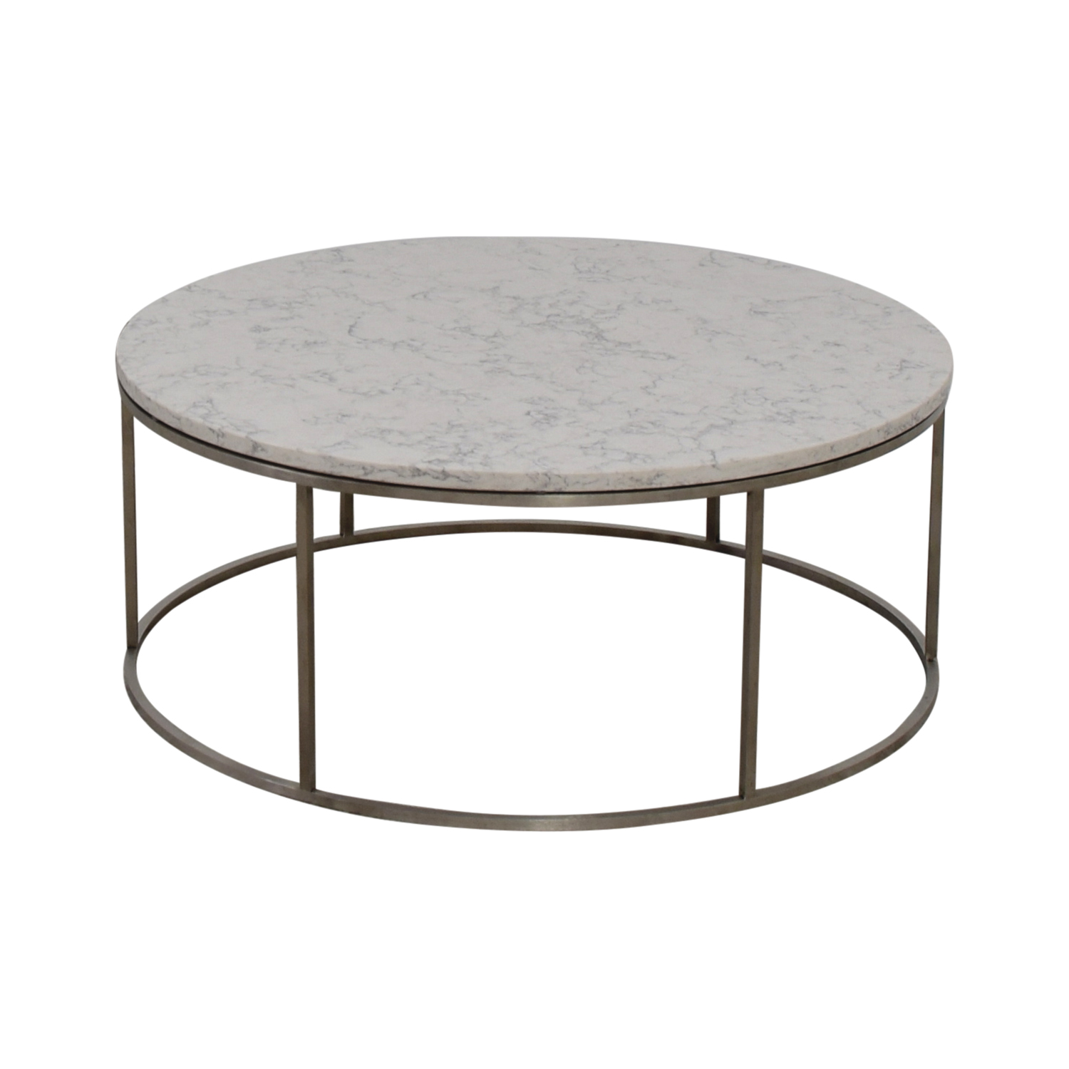 53 off room board room board round marble top coffee table tables Coffee tables with marble tops
