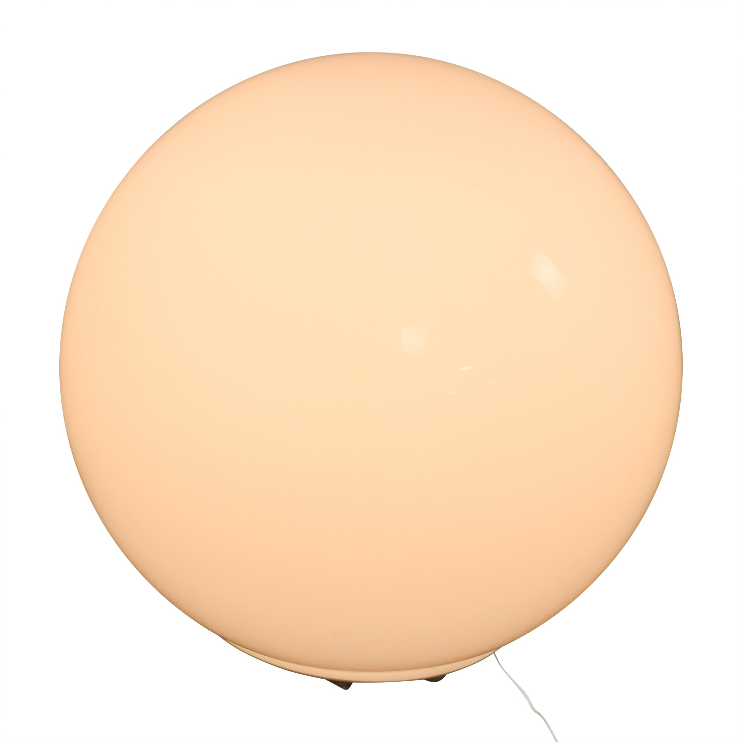 24 Off Ikea Ikea Fado White Ball Table Lamp Decor