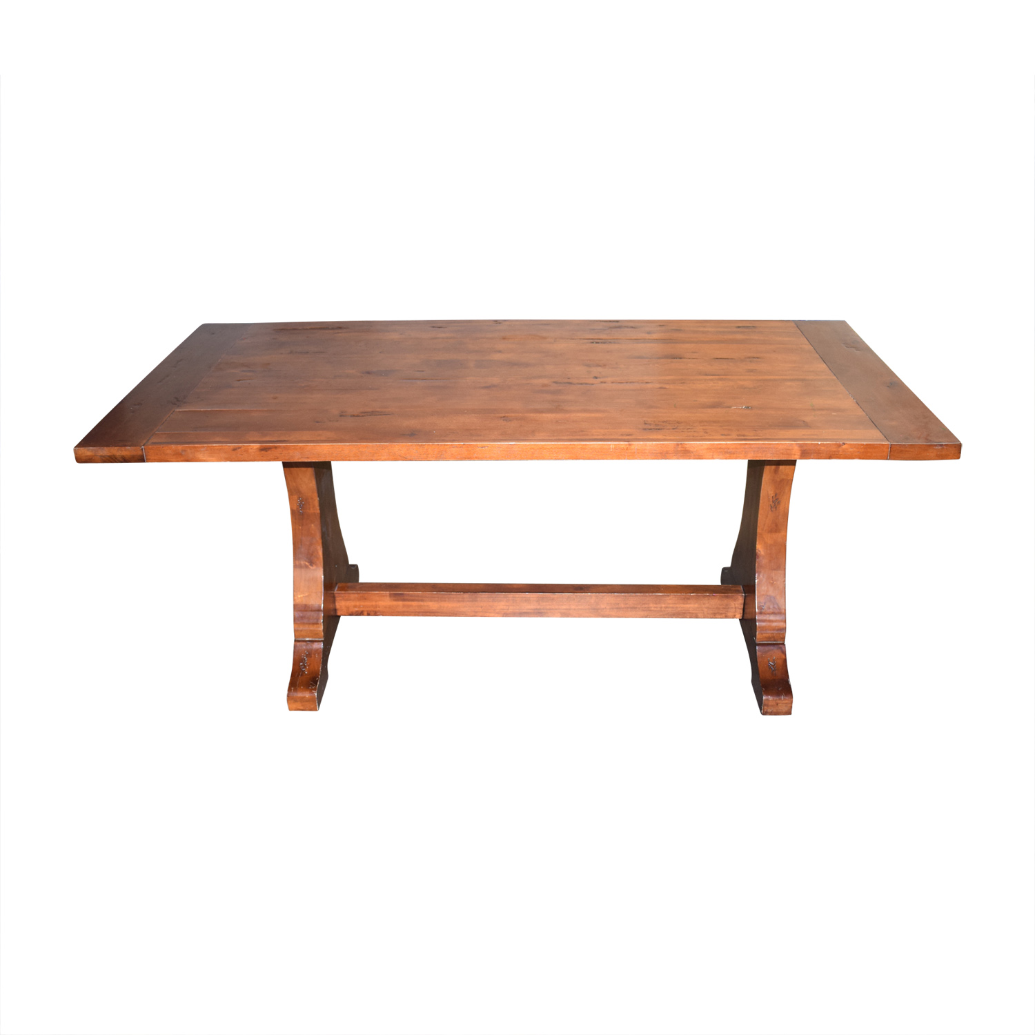 Ballard Designs Ballard Designs Solid Walnut Dining Table