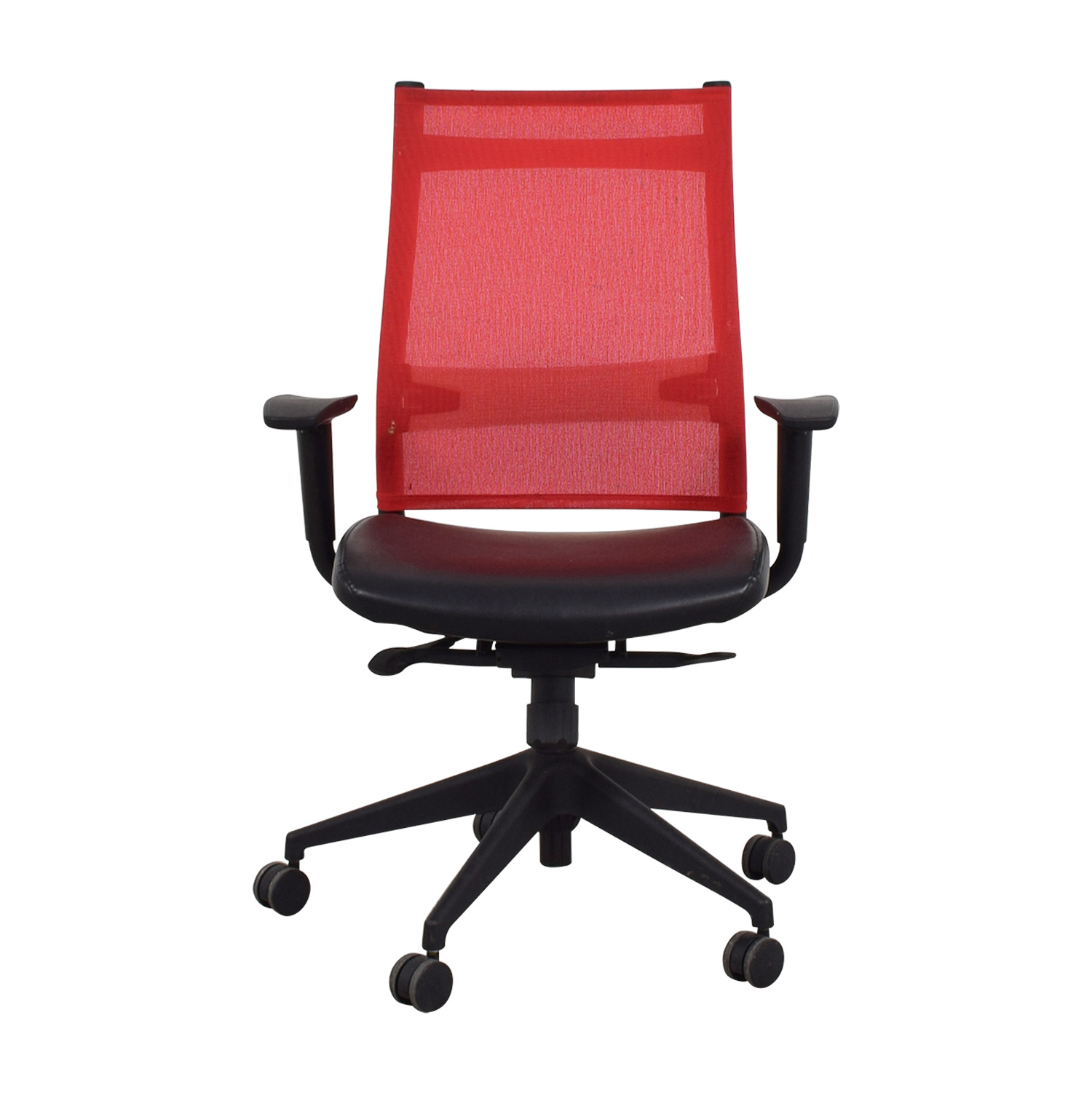 SitOnIt SitOnIt Red Office Chair nj