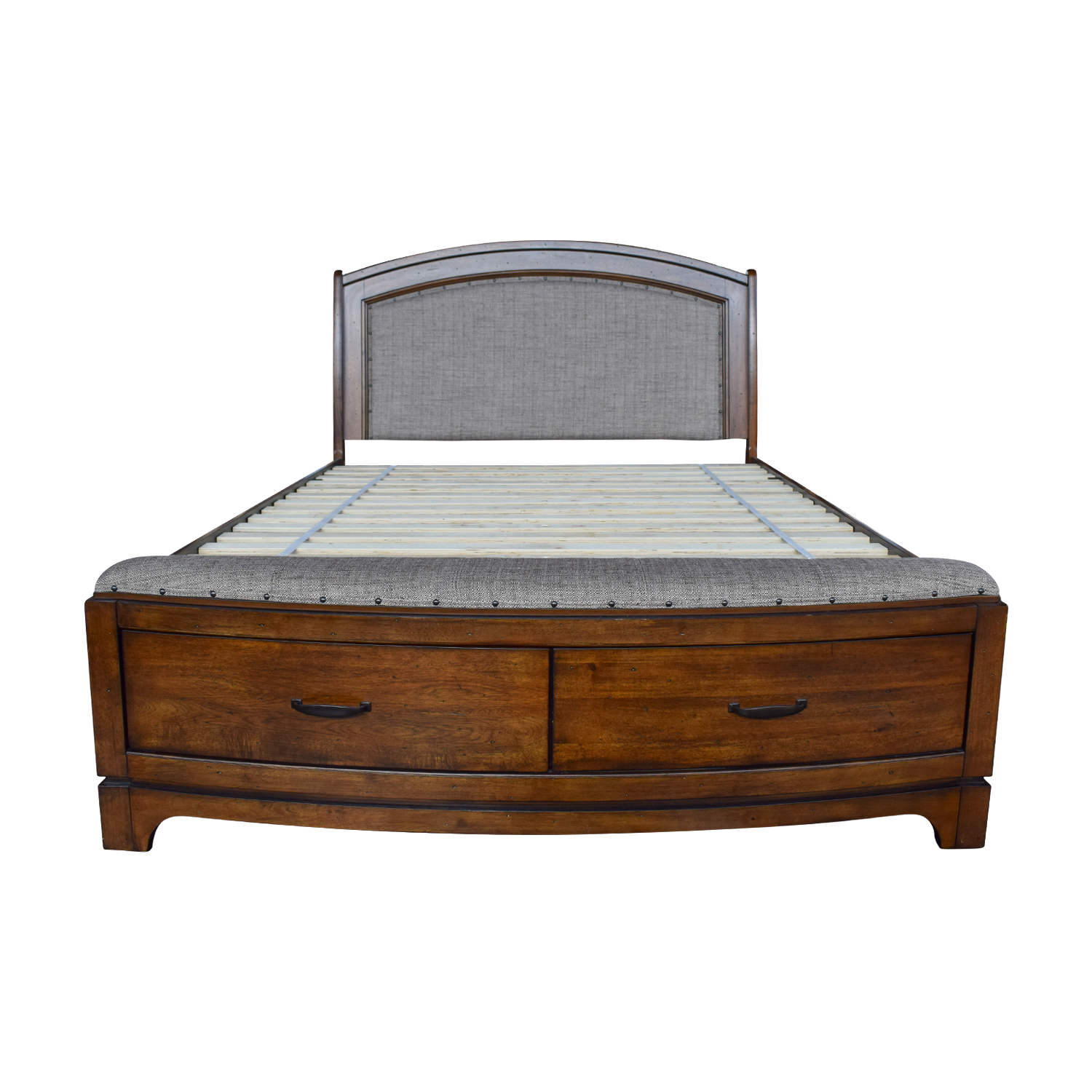 Queen Tufted Wooden Storage Bed coupon