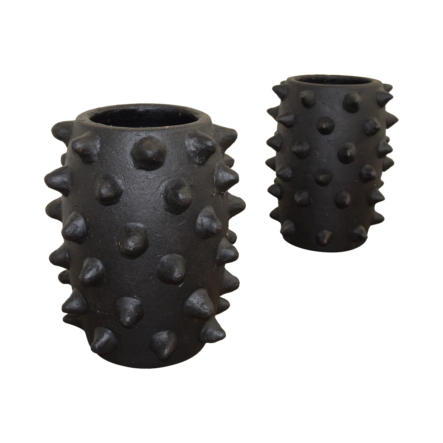 A & G Merch A & G Merch Black Spiked Vases coupon