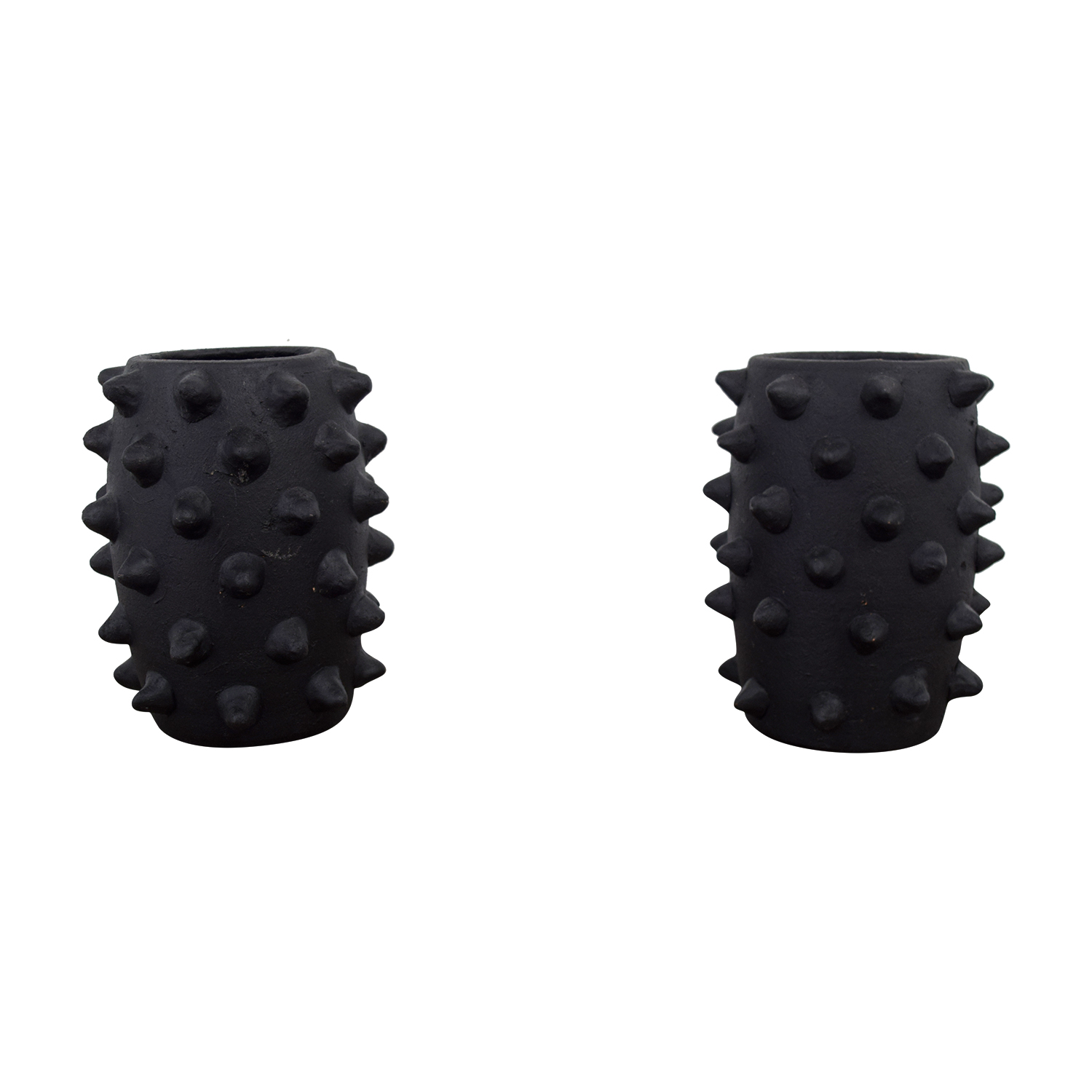 A & G Merch Black Spiked Vases sale