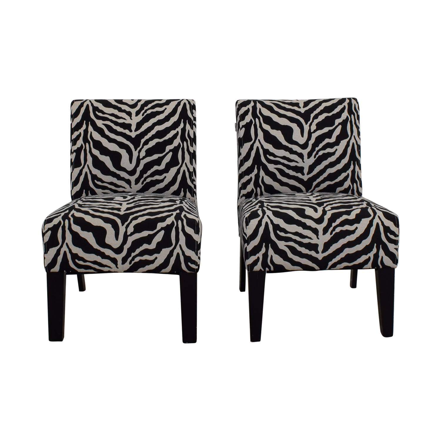 Aberly Aberly Zebra Accent Chairs for sale