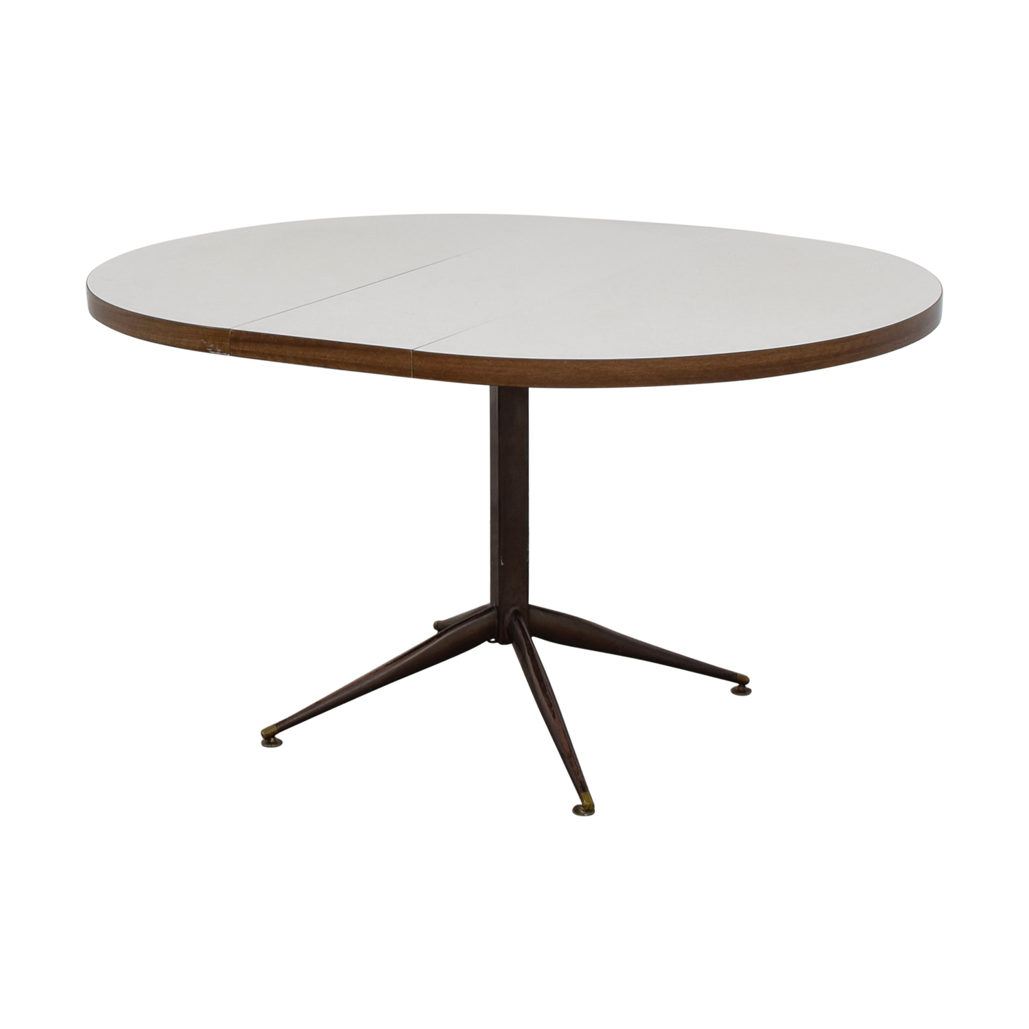 63 off white round expandable table tables for Buy expanding round table