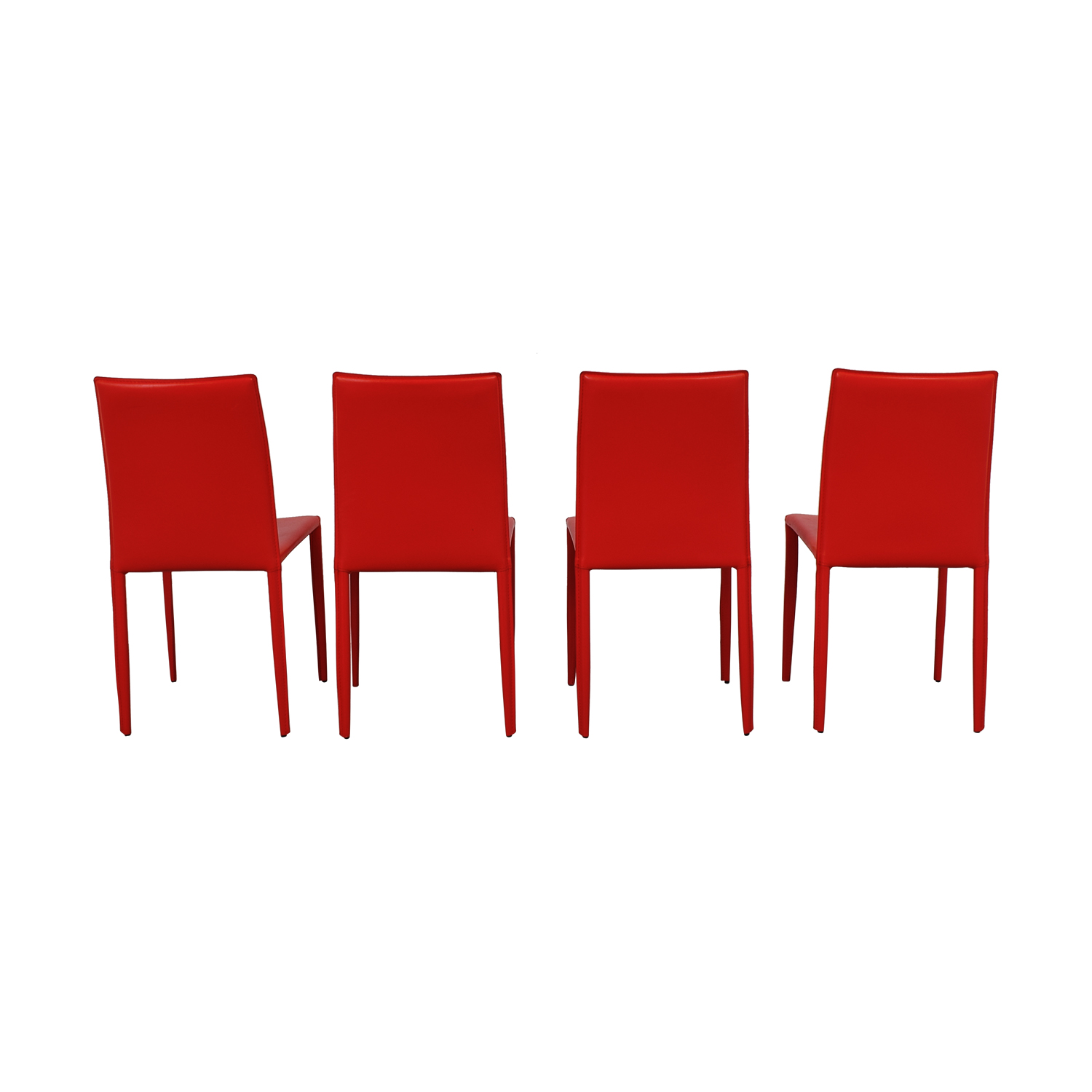 Safaviah Safaviah Red Leather Chairs coupon