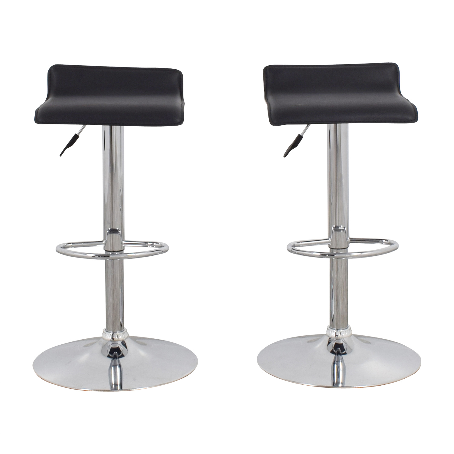 Black Bar Stools Black