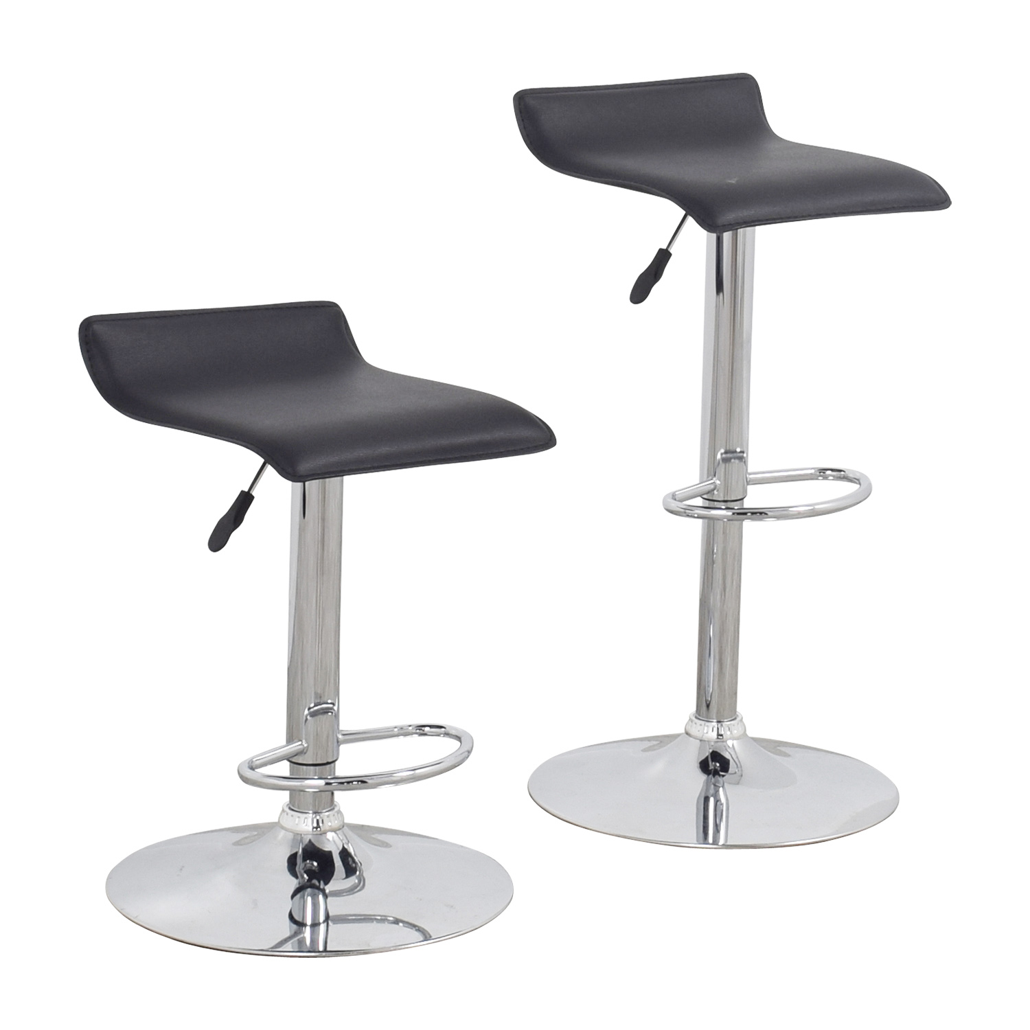 75 Off Black Bar Stools Chairs