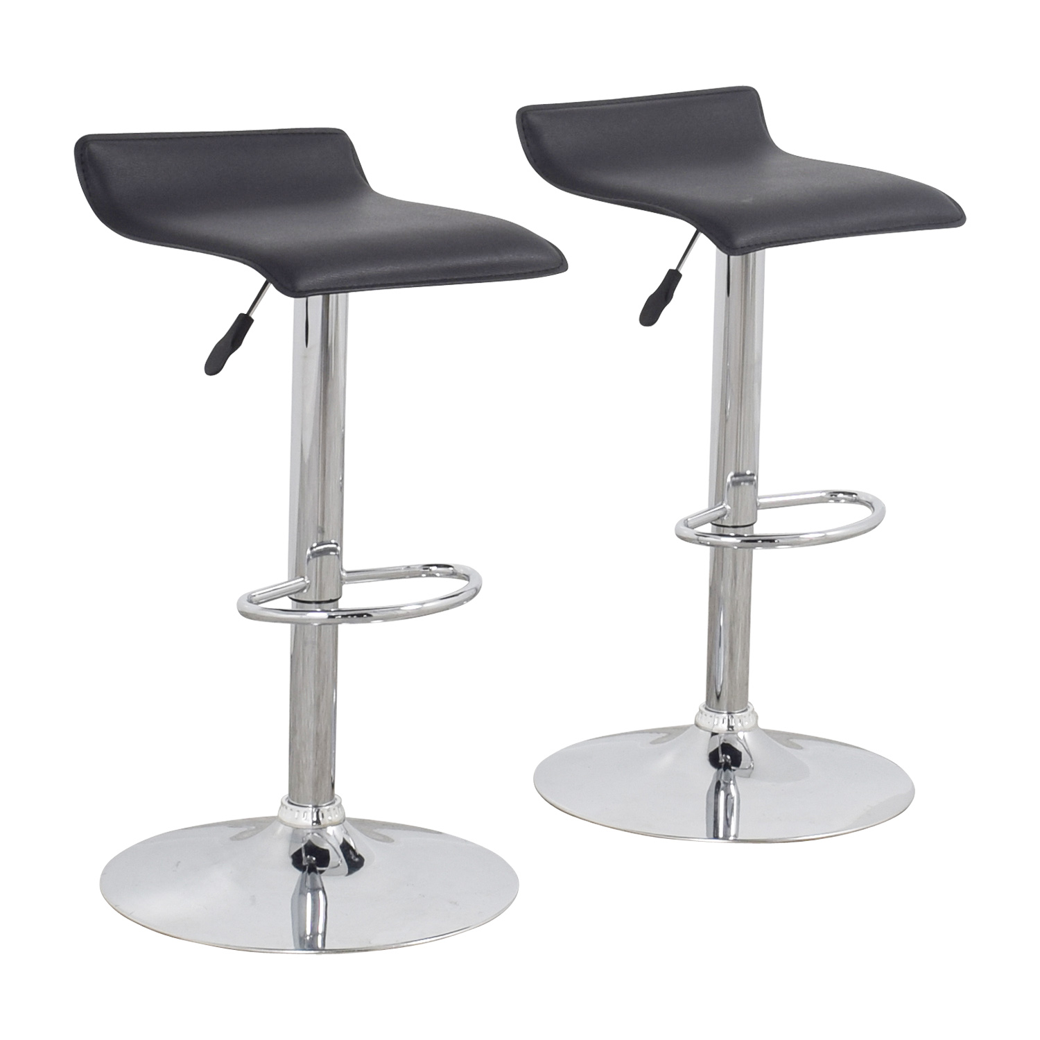 87 Off Black Bar Stools Chairs