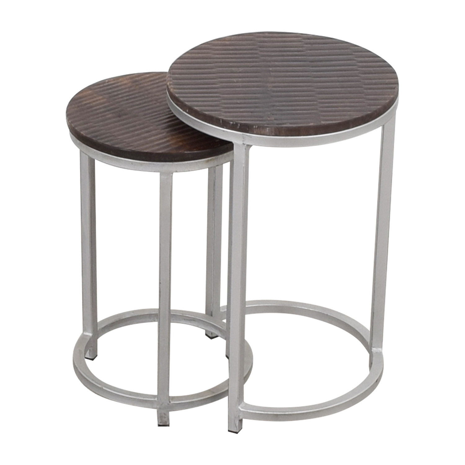 Round Nesting Side Tables for sale