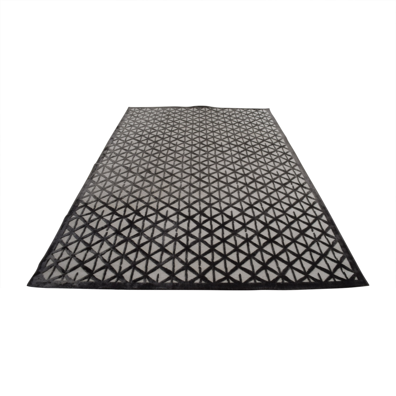shop Grey and White Rug online