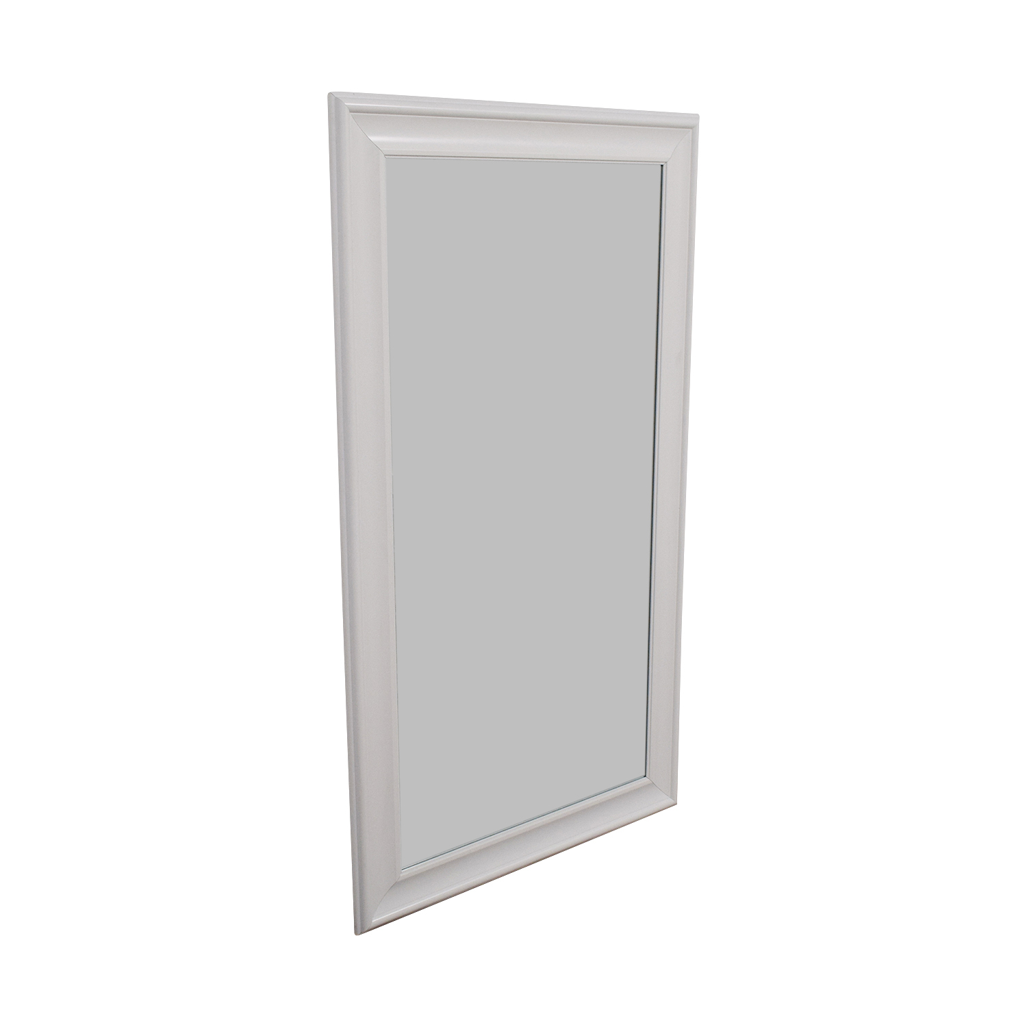White Full Length Mirror used