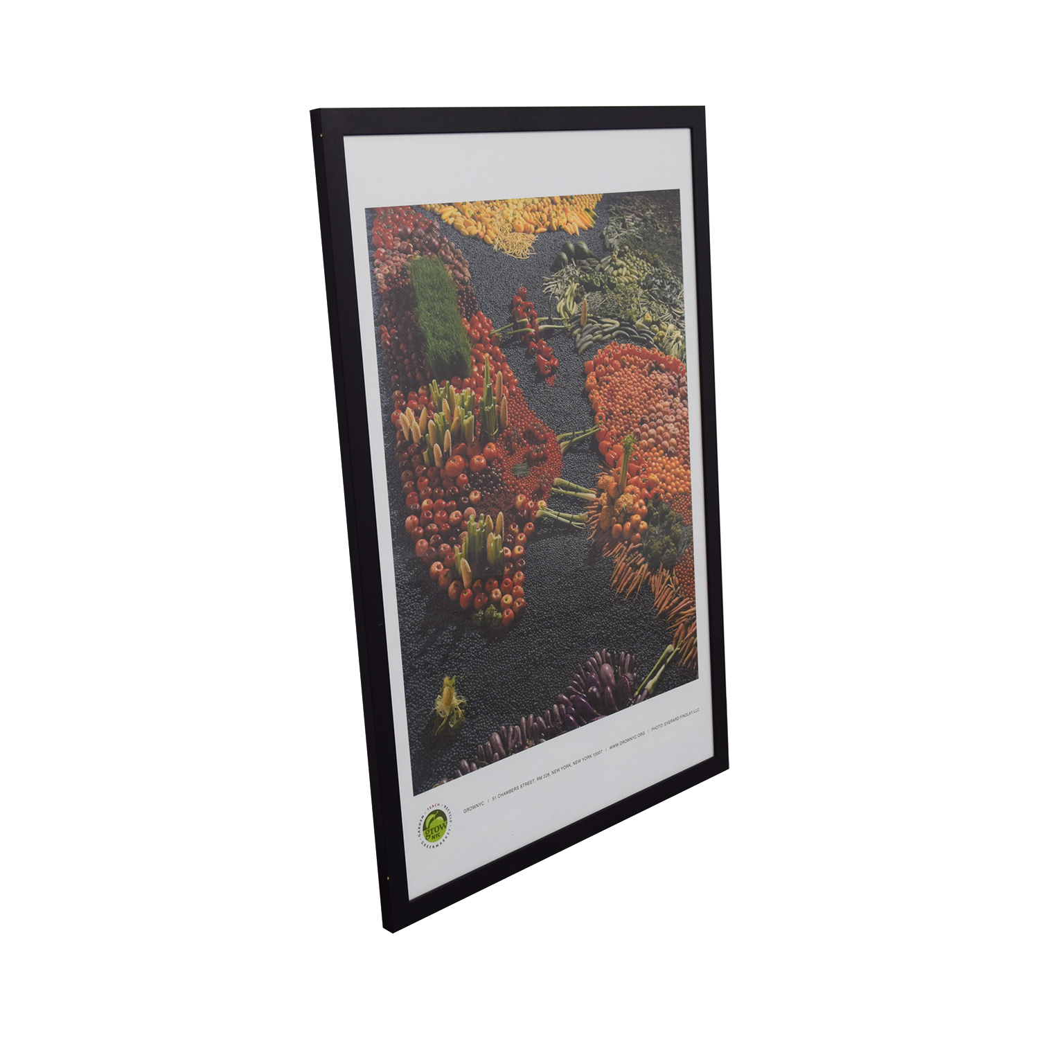 Vegetables Framed Print Decor