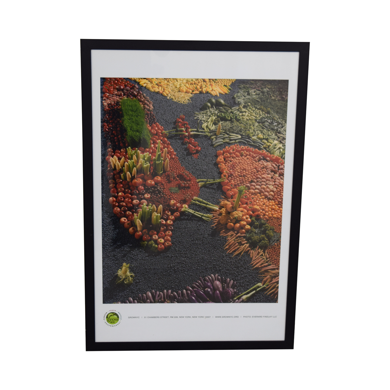 Vegetables Framed Print for sale
