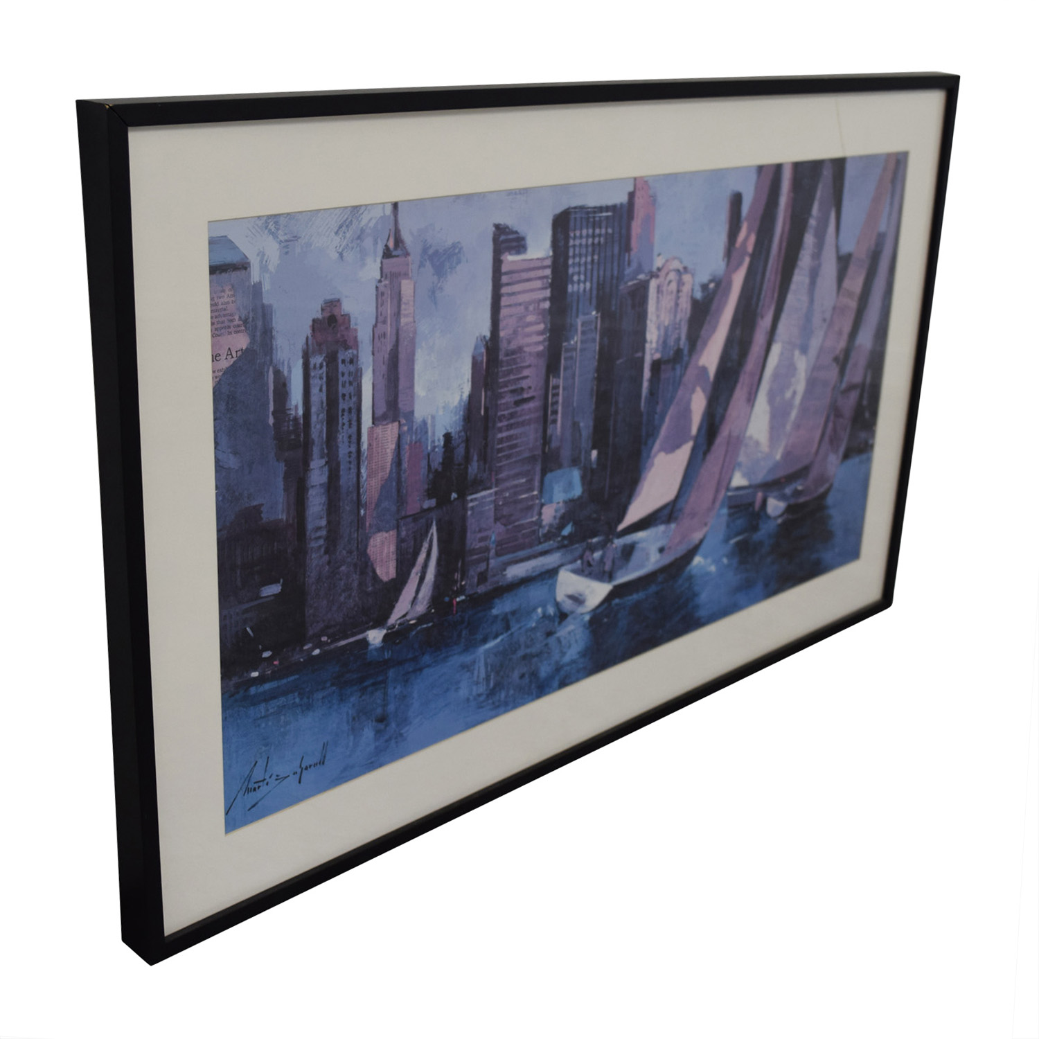 Boating on the Hudson Painting coupon