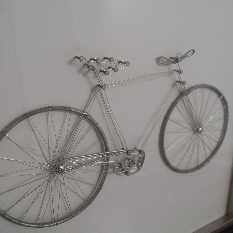 buy Metal Bicycle Framed Art