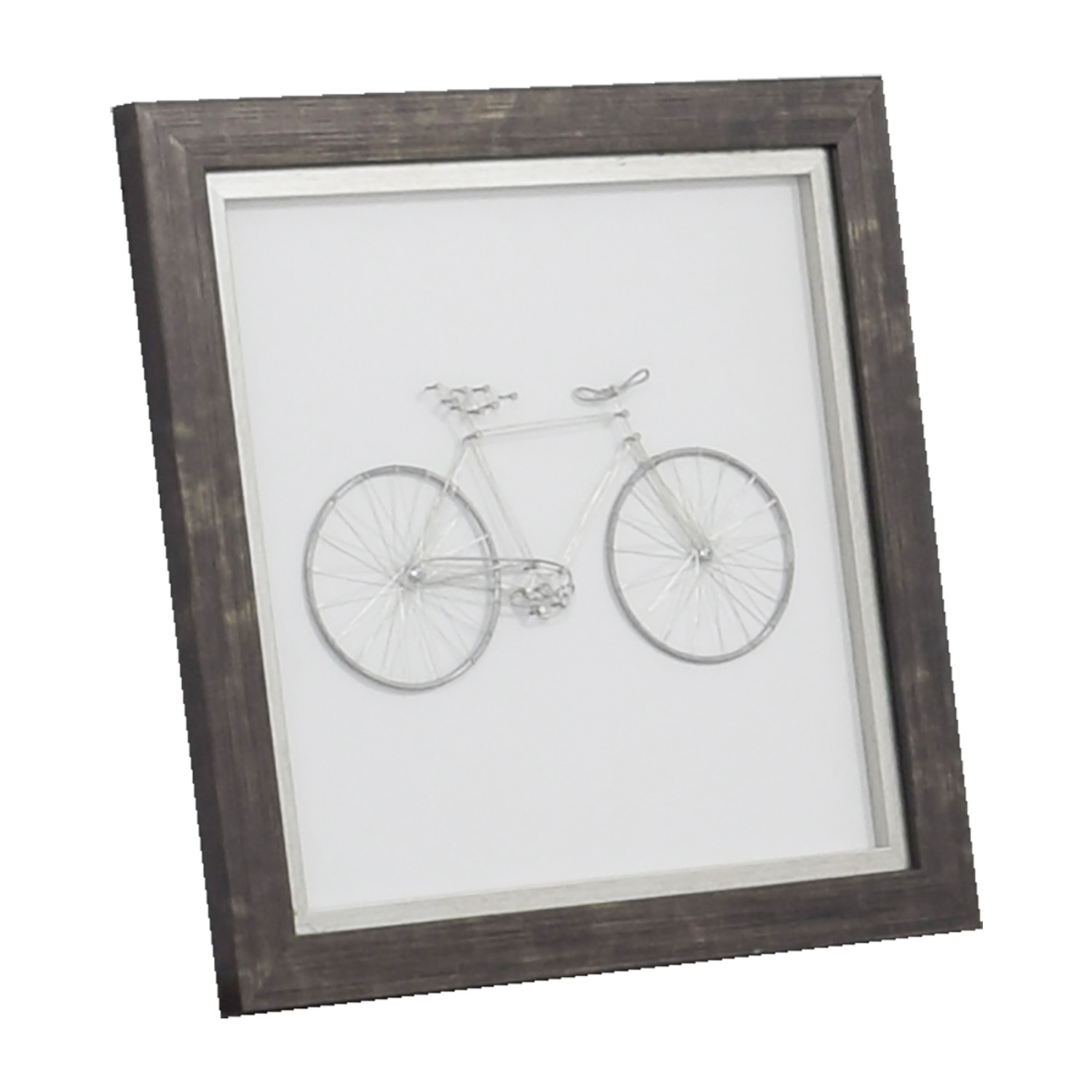 buy Metal Bicycle Framed Art Wall Art