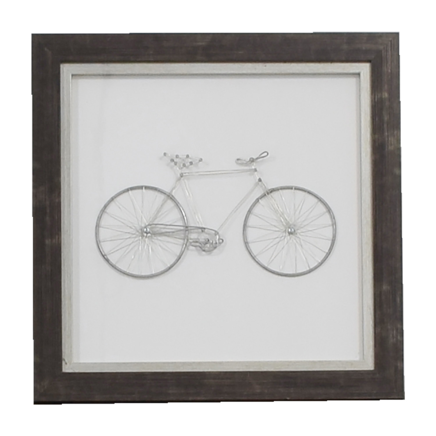 Metal Bicycle Framed Art sale