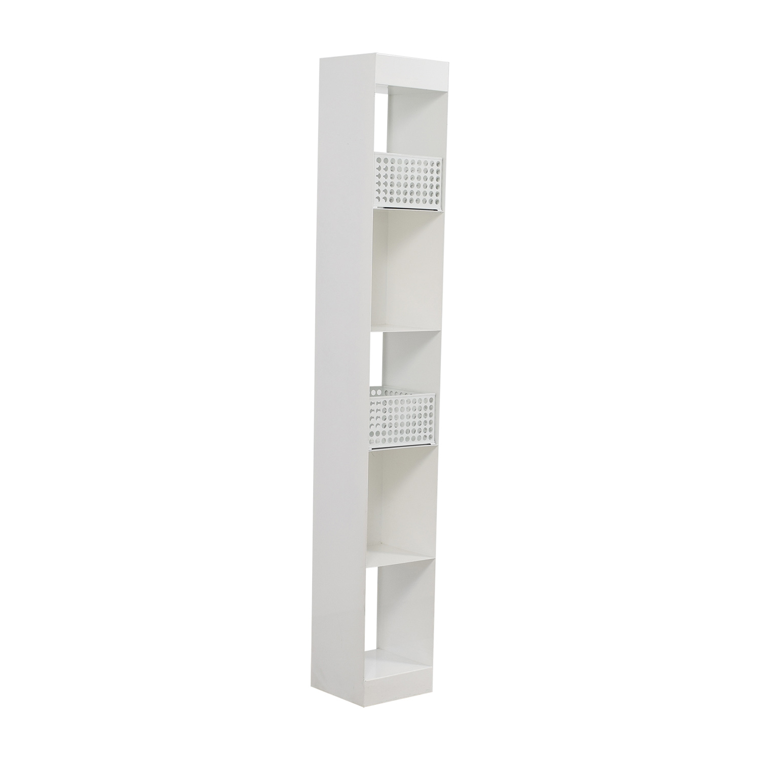 CB2 White Decorative Shelving / Storage