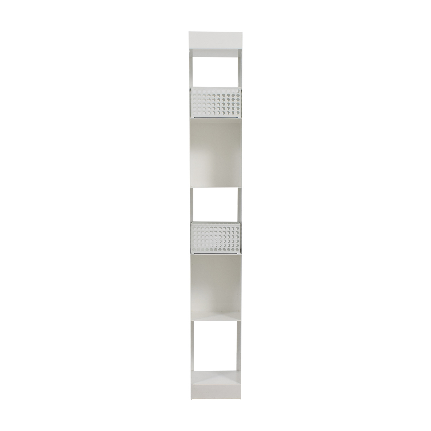 CB2 CB2 White Decorative Shelving for sale