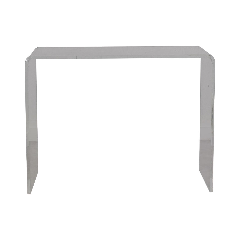 buy CB2 CB2 Acrylic Ghost Desk online