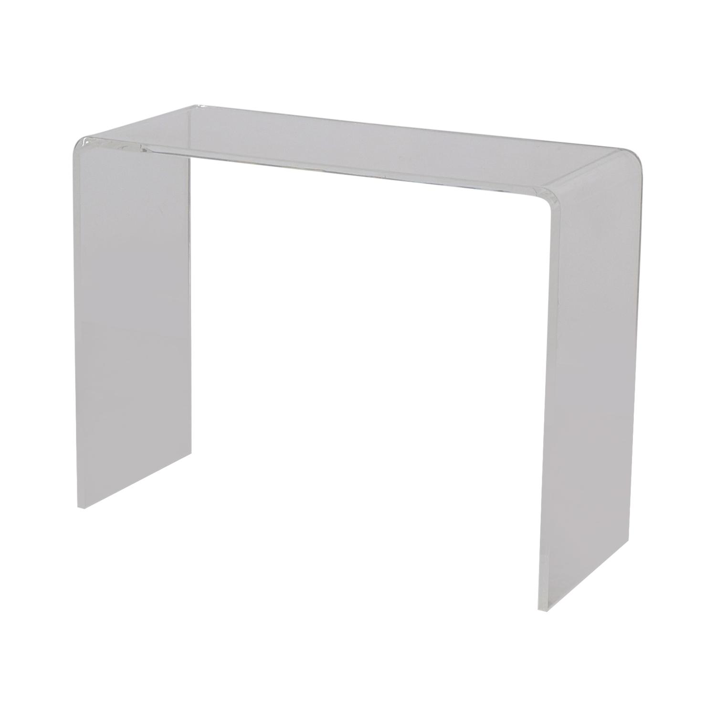 CB2 Acrylic Ghost Desk / Tables
