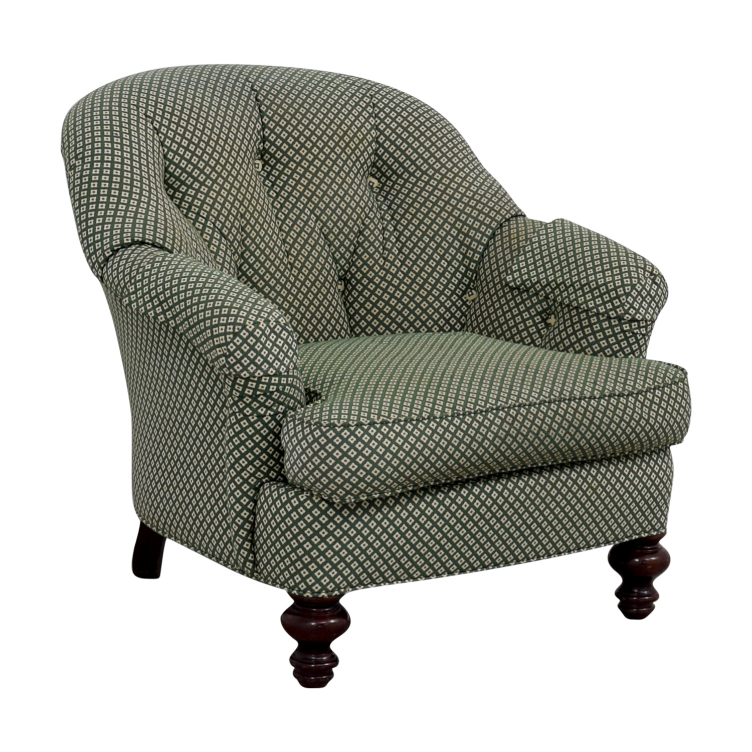 90% OFF - Sherrill Furniture Sherrill Furniture Tufted ...