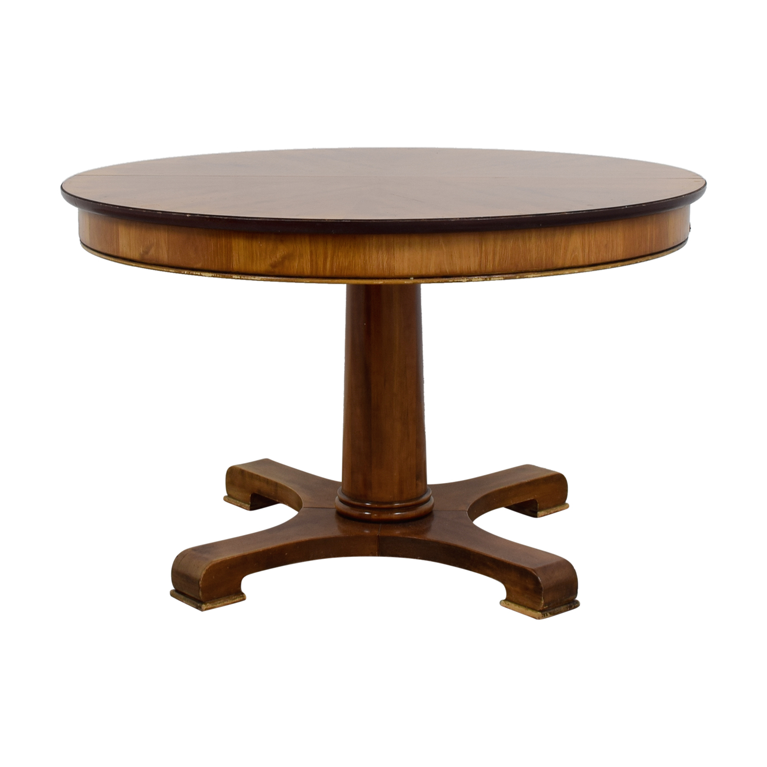 89% OFF - Grange Grange Expandable Wood Dining Table with Protective Cover  / Tables