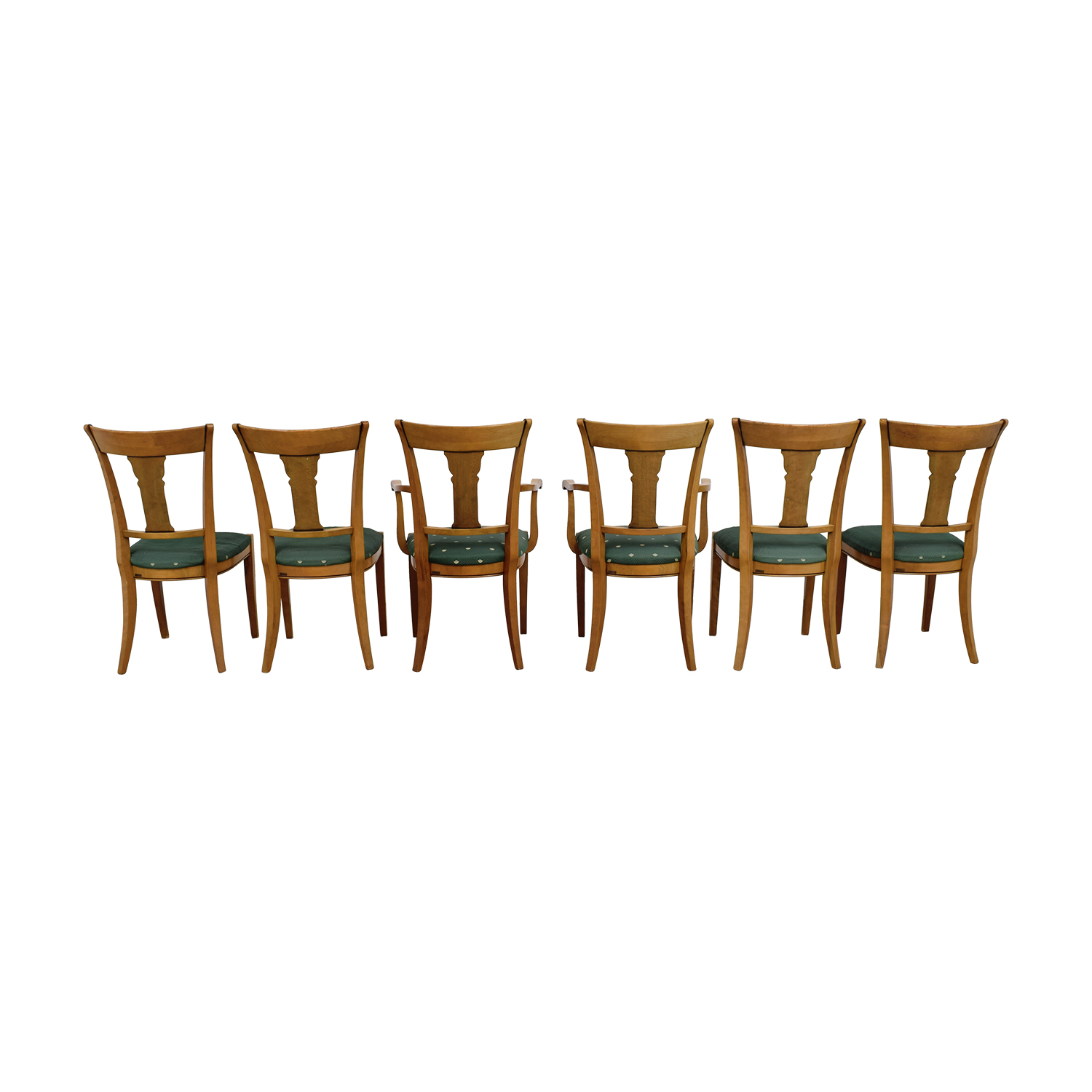 shop Grange Grange Rochambeau Green Upholstered Dining Chairs online