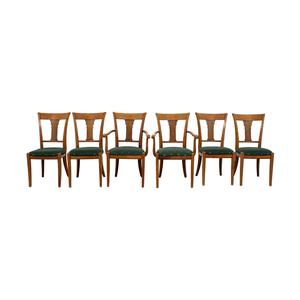 shop Grange Grange Rochambeau Green Upholstered Dining Chairs online