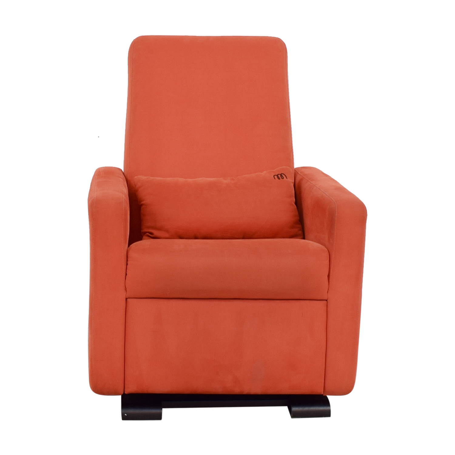 shop Monte Design Orange Nursery Recliner Glider Monte Design Chairs