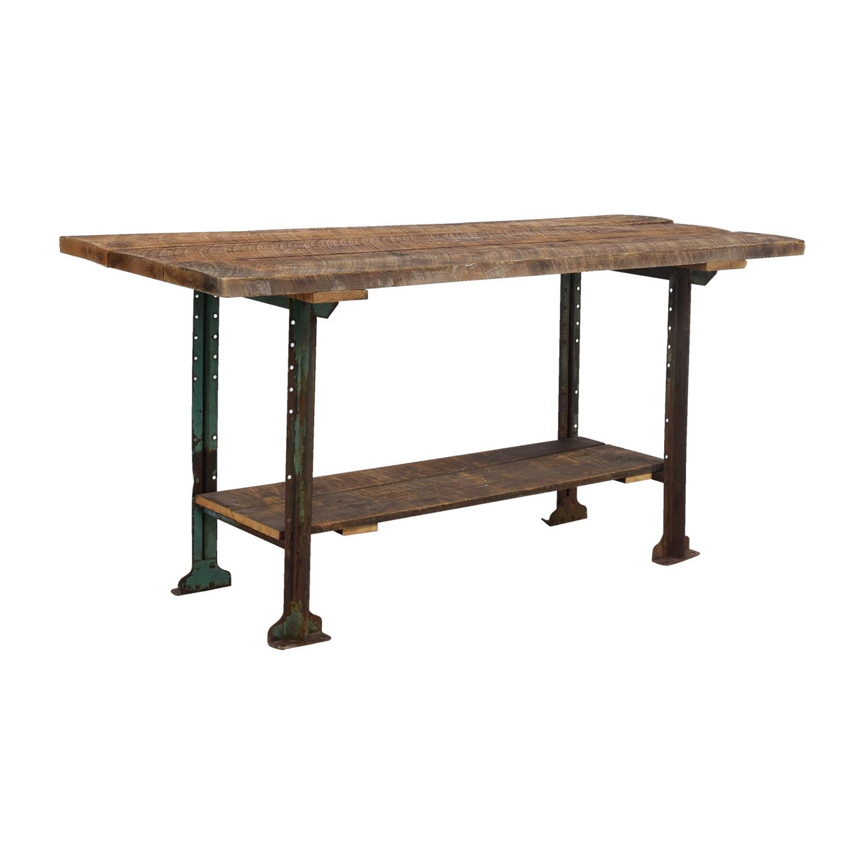 buy Brooklyn Flea Market Rustic Reclaimed Wood Table Brooklyn Flea Market