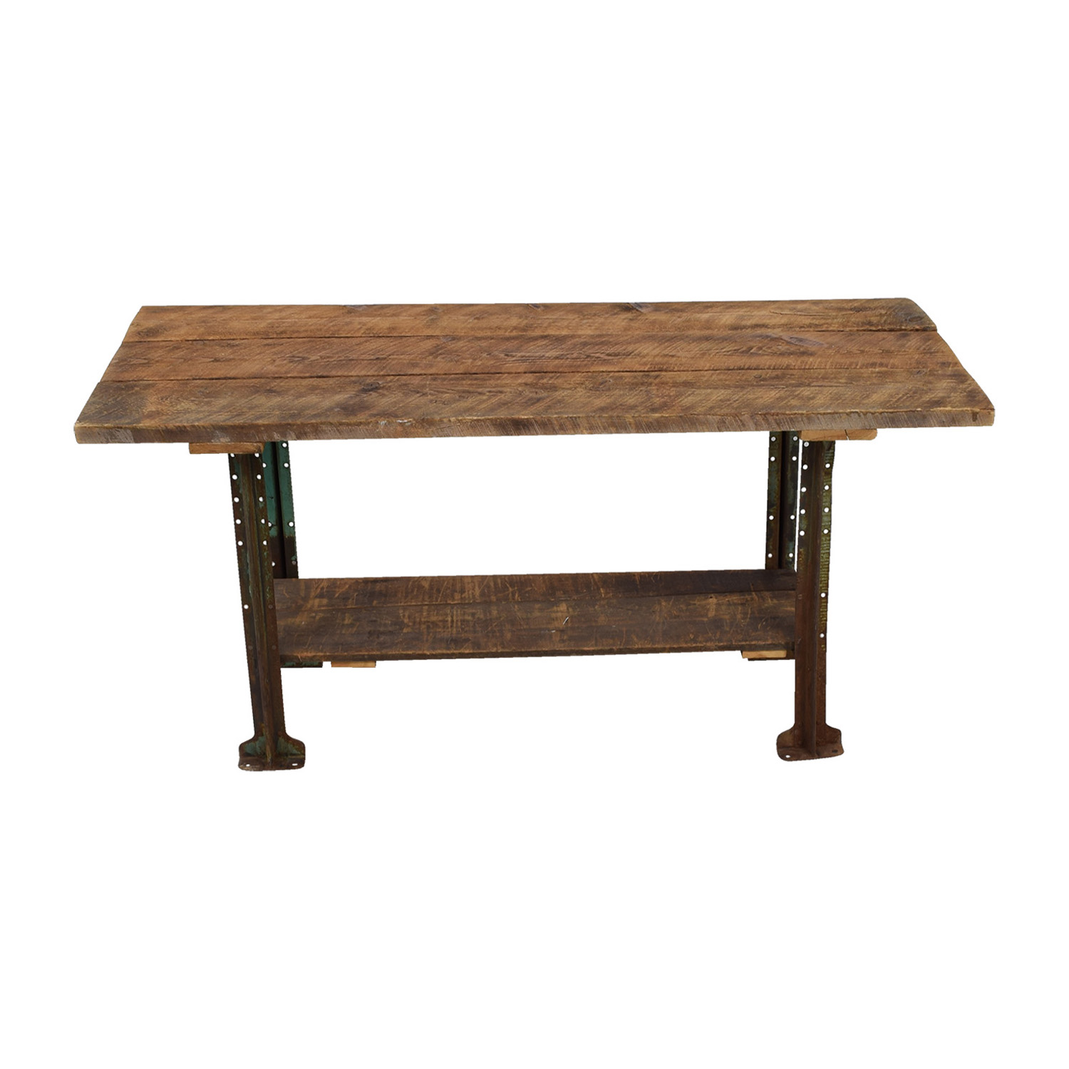 shop Brooklyn Flea Market Rustic Reclaimed Wood Table Brooklyn Flea Market Tables