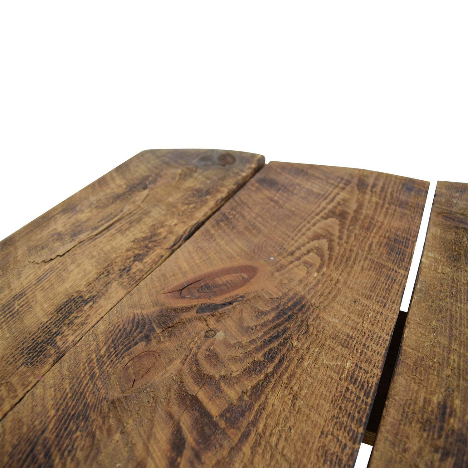 shop Brooklyn Flea Market Brooklyn Flea Market Rustic Reclaimed Wood Table online