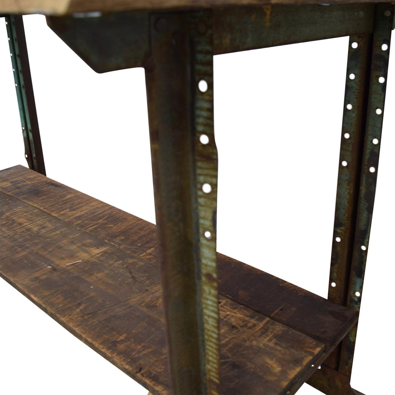 Brooklyn Flea Market Rustic Reclaimed Wood Table / Dinner Tables
