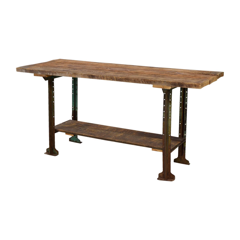 buy Brooklyn Flea Market Rustic Reclaimed Wood Table Brooklyn Flea Market Dinner Tables