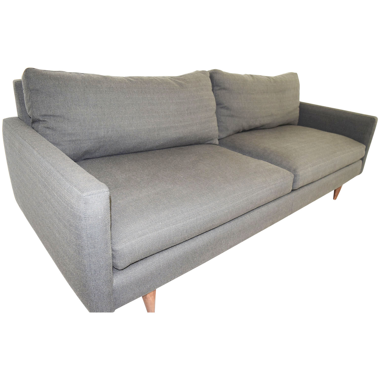 30 off room and board room board jasper grey two for Cheap classic sofas