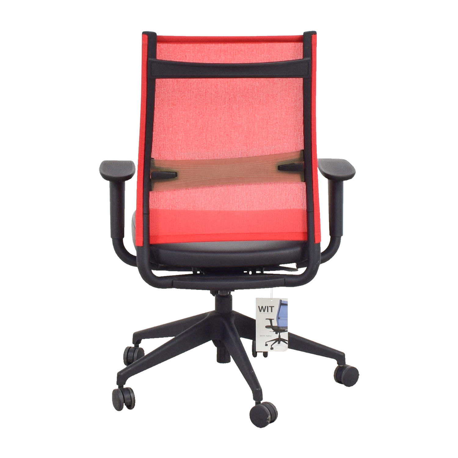 SitOnIt SitOnIt Red Office Chair second hand